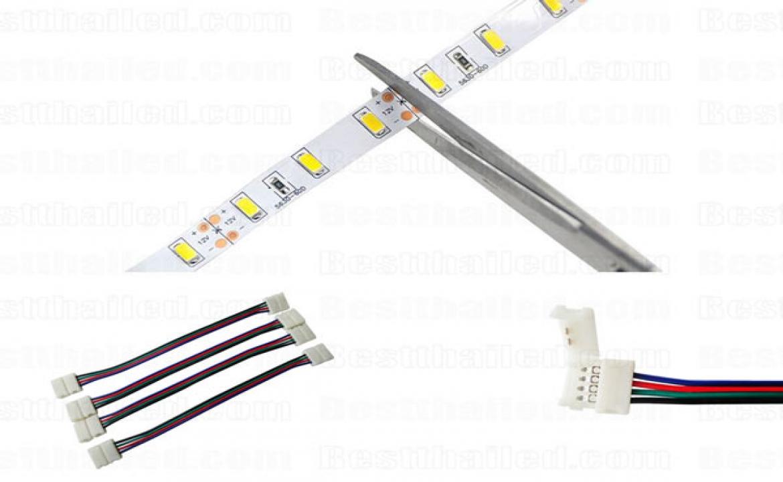 ไฟ LED เส้น ตัดแล้วต่อยังไง?
