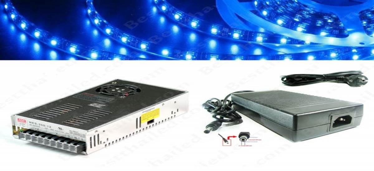 หม้อแปลง 12V power switching ตัวไหนเหมาะกับ ไฟ Led เส้น